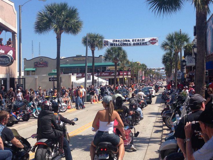 Daytona Bike Week 2014 Main Street