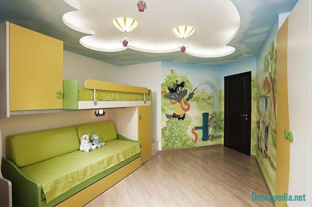 New Pop Ceiling Designs For Kids Room 2019 False Ceiling Design