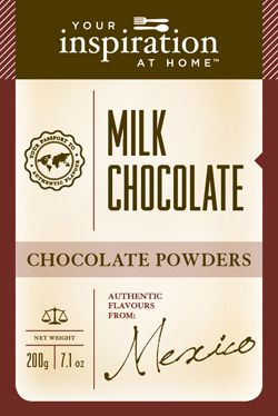 Hot or Cold drink....Milk Chocolate always makes the day seem brighter! Great for kids! $10.95 #YIAH #kids #Mexico
