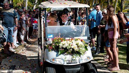 Our wedding Hamilton island australia