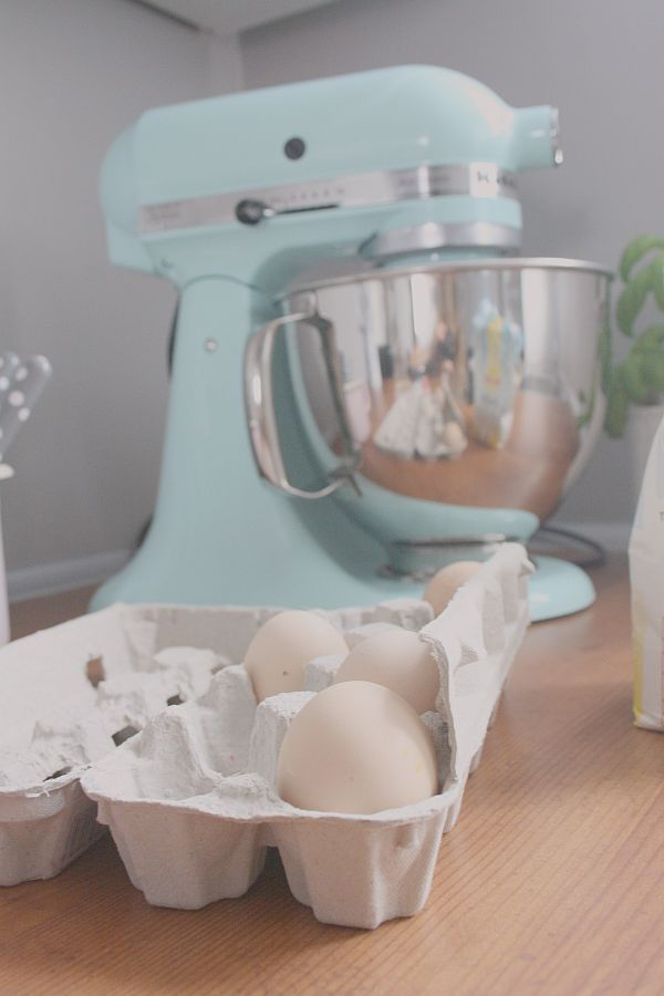 My lovely KitchenAid/ Ice blue
