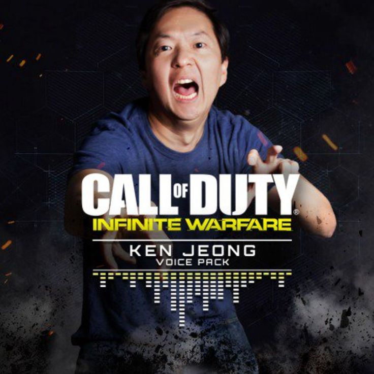 Call of Duty: Infinite Warfare Ken Jeong VO Pack arrives We've had the tones of Method Man and we've listened in on Ozzy Man, but now we've got a whole load of different, Ken Jeong. http://www.thexboxhub.com/call-duty-infinite-warfare-ken-jeong-vo-pack-arrives/