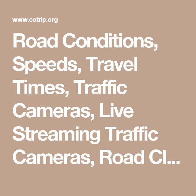 1000+ ideas about Cdot Road Conditions on Pinterest
