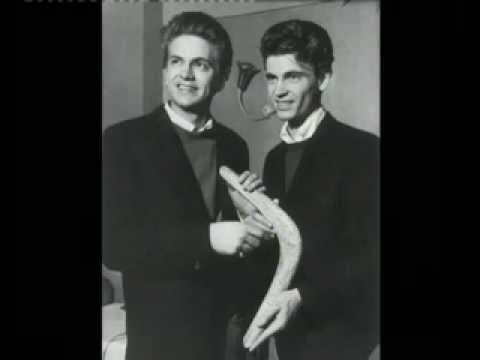 """Today 12-15 in 1959: The Everly Brothers, """"Let It Be Me"""" was recorded. It would be a No. 7 hit song for them."""