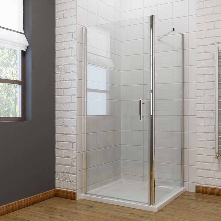 details about sliding walk in quadrant shower enclosure and tray frameless pivot corner entry