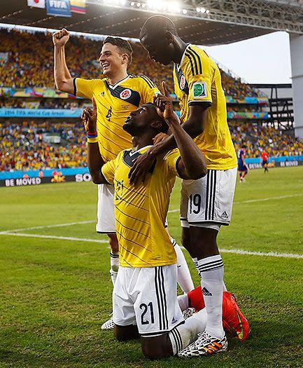 Victoria de #Colombia 4-1 ante #Japón #Brasil2014 #MundialBrasil2014