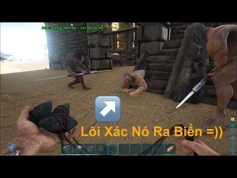 ARK: Survival Evolved Online #4 - Game Offline bị Troll | Linh Ngáo - YouTube