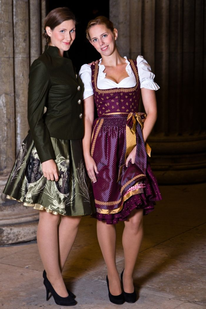 Dirndl Fashion Shoot from Fashionvictress.com