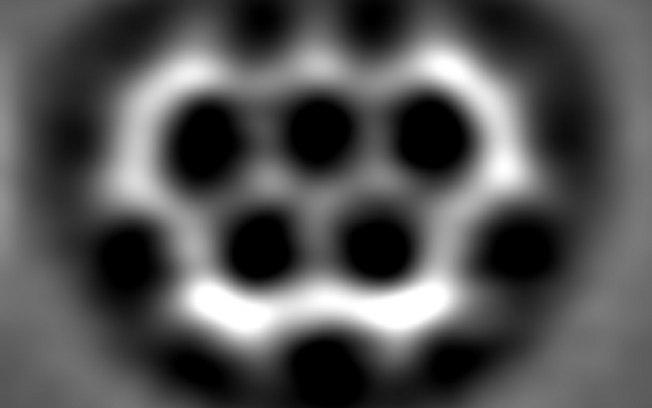 Cientistas criam 'molécula olímpica'