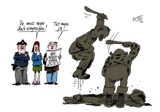 Klaus Stuttmann Karikaturen - Archiv