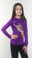 GS14-FAJITAS-737 - Joshua Perets - Girls - Tweens - Long Sleeves Shirt - Purple