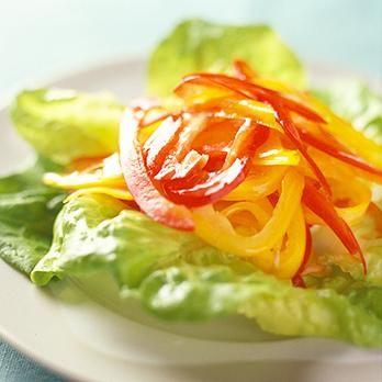 カラーピーマンのサラダ | 石原洋子さんのおつまみの料理レシピ | プロの簡単料理レシピはレタスクラブニュース