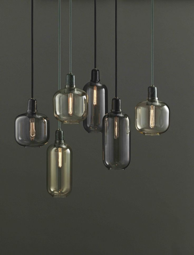 Normann Copenhagen Lamp Amp Groen Goud | Klevering