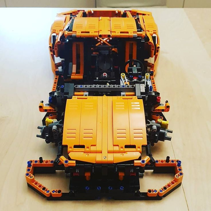 Almost done... #lego #porsche #gt3rs #legotechnic