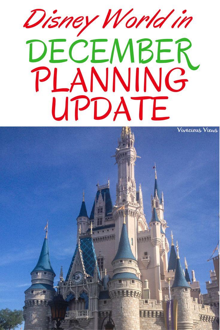 Disney World in December Planning Update
