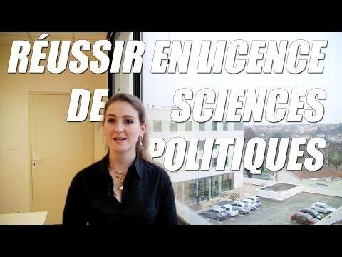 ▶ Réussir en licence de Sciences politiques ? - Orientation Post-Bac - YouTube