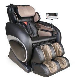 Fotel KENNEDY III to świetny fotel z masażem niemieckiego producenta Casada. Posiada 5 programów automatycznych oraz 3 programy manualne. Jako jedyny fotel posiada również zaawansowany system poduszek powietrznych, które masują łydki, stopy, uda, pośladki, przedramiona oraz dłonie. Jest to jeden z najbardziej zaawansowanych technologicznie foteli z masażem. Posiada również fukncję Zero Gravity, która jest pozycją najmniej obciążającą kręgosłup. Polecamy