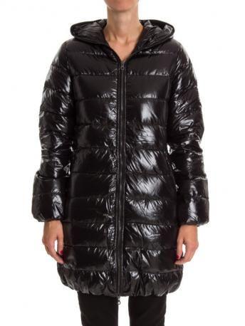 Duvetica-piumino duvetica acequattro nero-duvetica black acequattro down coat-Duvetica shop online