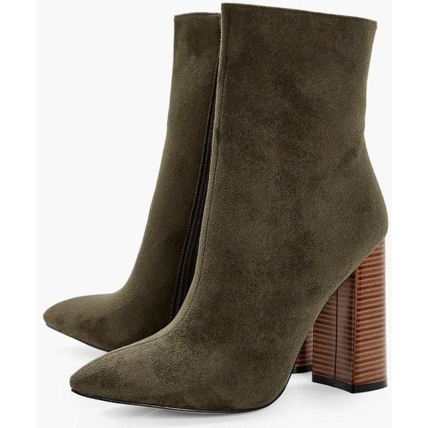 d9574e7c0df Boohoo Ceri Pointed Sock Boots (3925 RSD) ❤ liked on Polyvore featuring  shoes, boots, jelly boots, flatform boots, block heel shoes, evening shoes  and ...