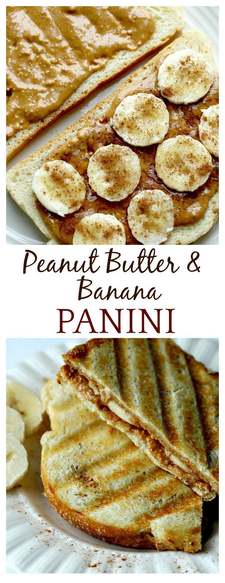I loved peanut butter and jelly sandwiches as a kid so this grown up panini recipe with honey and cinnamon is just amazing to me! I could eat this every single day!