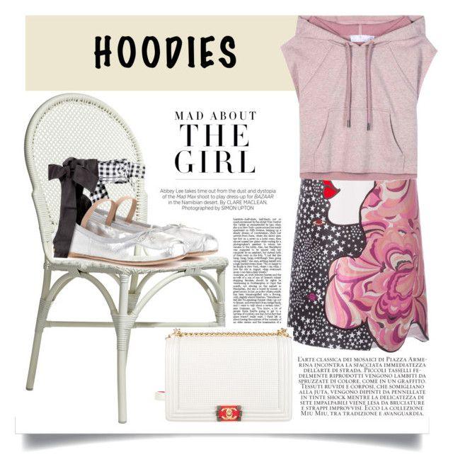 Cute hoodie by malinkova on Polyvore featuring moda, Giamba, adidas, Miu Miu, Chanel, Made Goods, Kershaw, StreetStyle and hoodie
