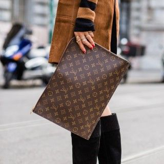 Monogram Clutch Louis Vuitton