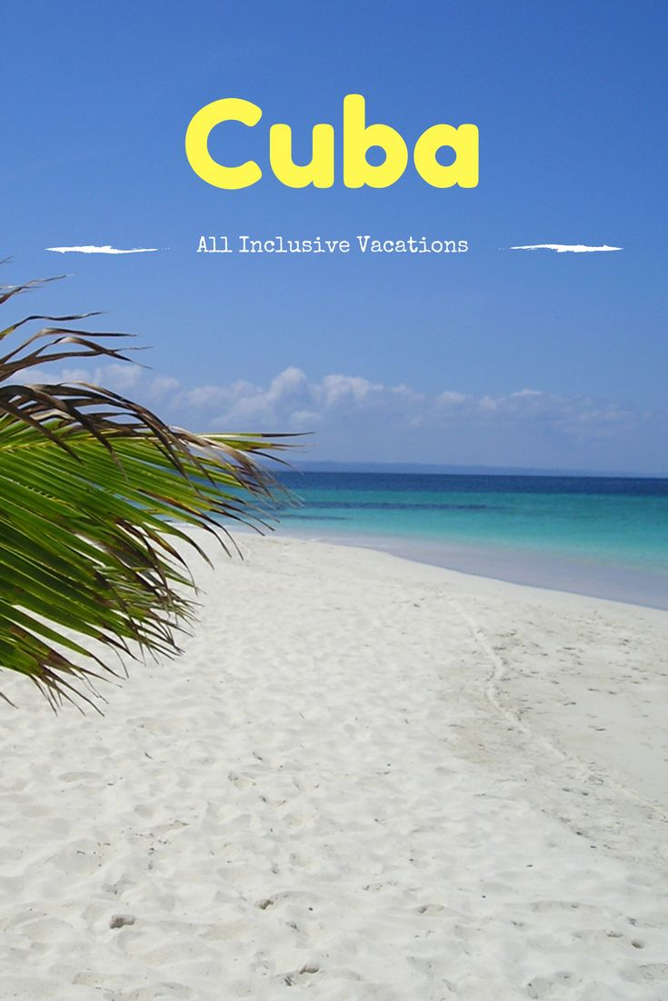 Caribbean Islands Travel Features - Enjoy Affordable All - Inclusive Holidays to Cuba ... See more @gr8traveltips