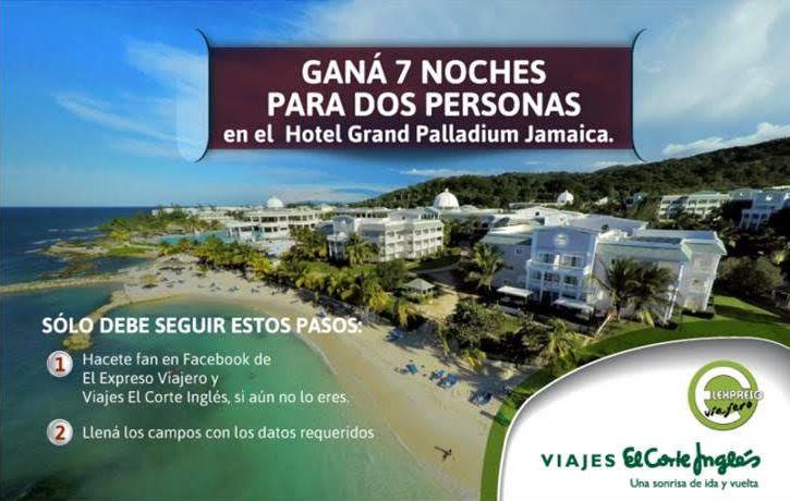 Sorteo El Expreso Viajero 2016: Gana 7 noches en Grand Palladium Jamaica Resort & Spa   Black Friday 2016