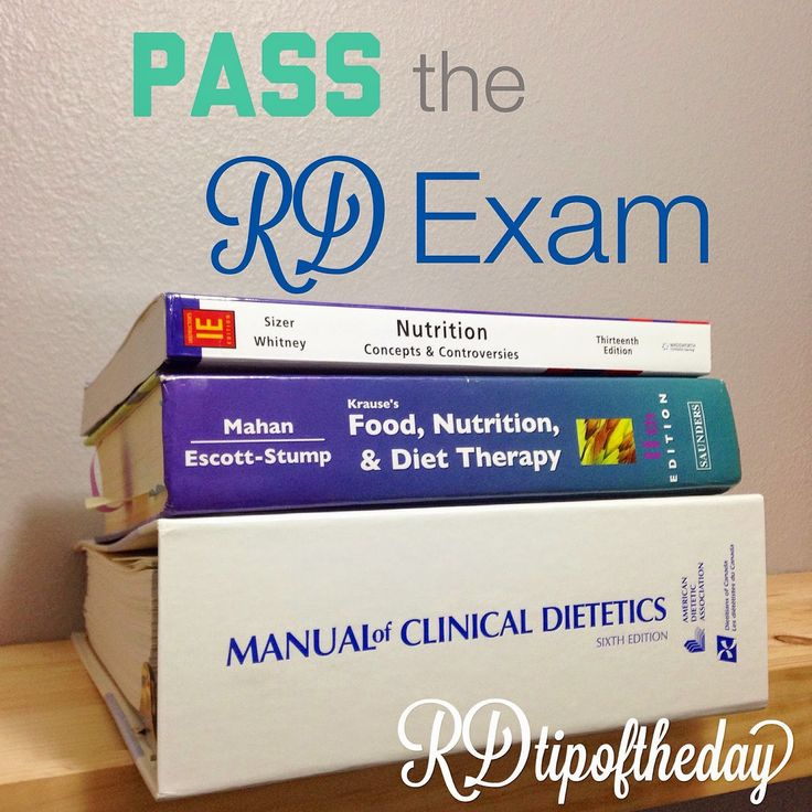 RD Tip of the Day : Becoming a Registered Dietitian: the RD Exam