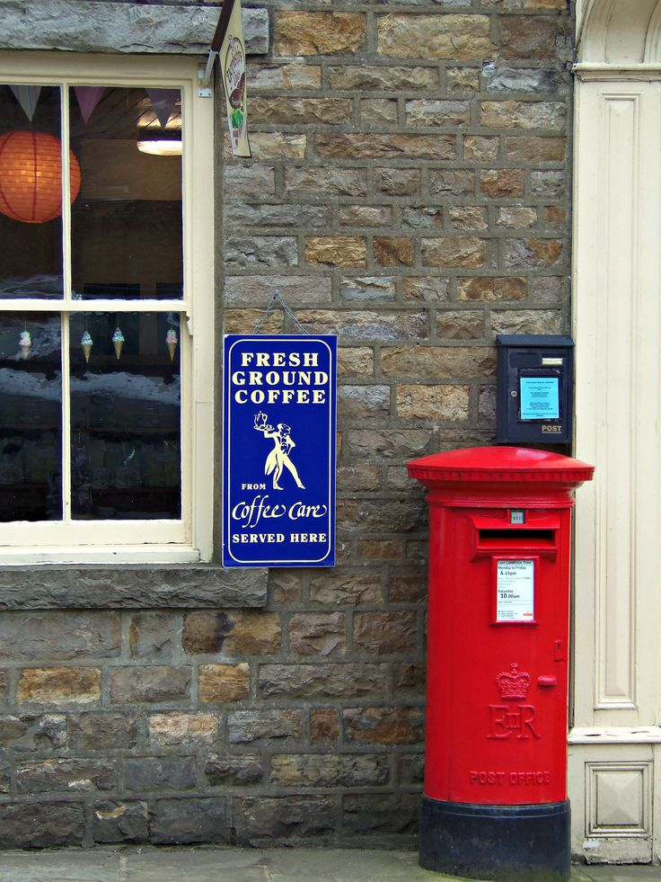 https://flic.kr/p/hJkoPW | Askrigg Pillar Box, North Yorkshire | The village has become notable through its role as the fictional Darrowby in the BBC TV series All Creatures Great and Small.