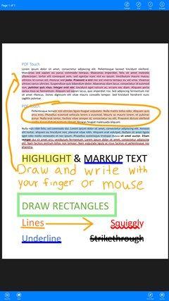 PDF Touch schermafbeelding 0