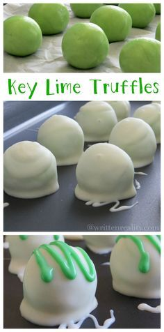 These Key Lime Truffles are delicious!!