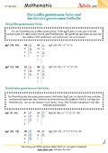 Primzahlen - Arbeitsblätter | Mathematik | Zahlenarten
