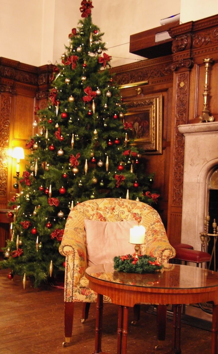 Our stunning Christmas Tree in our Beautiful Manor Lounge