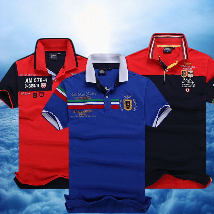 Free shipping Azzurri! aeronautica militare men Top quality 100% cotton, perfect embroidery polo's man air force one men ones 1 US $26.00