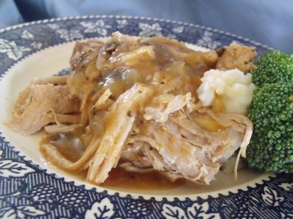 easy crockpot pork tenderloin roast | Food | Pinterest