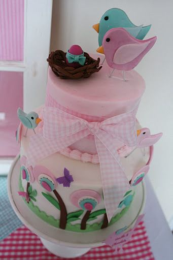 Cute bird theme for a baby shower :) Love all the decorations!