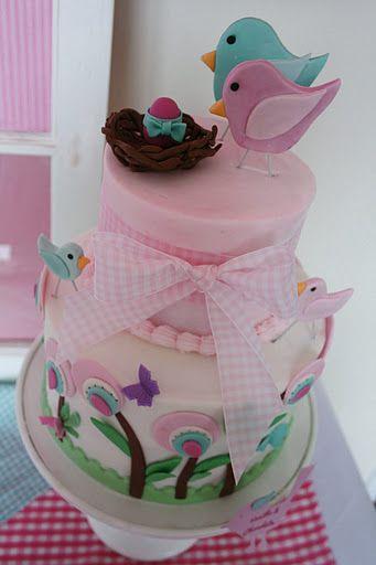 #GirlsCake BirthdayCake Fondant Cake BabyShower