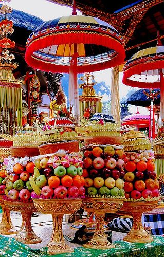 Bali Offerings - Holla.. Color!