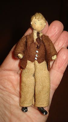 Vintage,Grecon,dad/man doll for old dolls house.