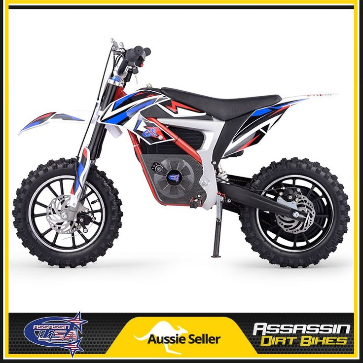 Assassin USA 500watt 500W 24V Kids Electric Dirt Bike Moped Goped Razor Off Road