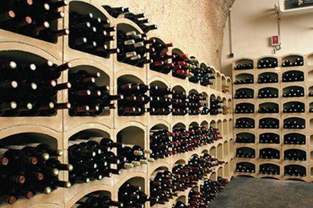Bloc Cellier - modulaire wijnnissen in rode terracotta of witte mergel