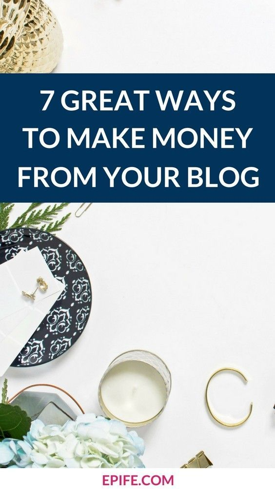 How to make money from your blog? Do you wonder how bloggers make money? It's not as tricky to make money from blogging. Look at these 7 great ways most-popular and beginner bloggers are using to making money from blogging. Click to read or pin to save! #bloggingtips #makemoneyblogging #makemoney