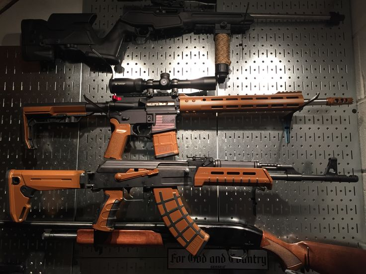 Pair of AR15 in 5.56/.223 and Century Arms C39V2 AK in 7.62x39 both with copper duracoat.