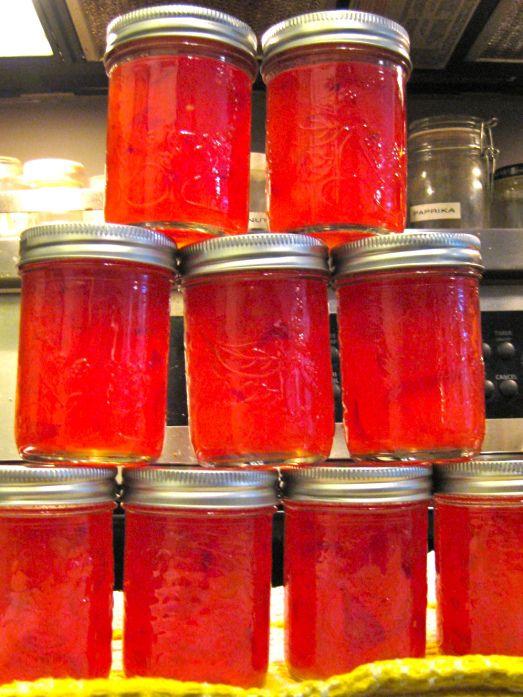 Habanero Peach Jam