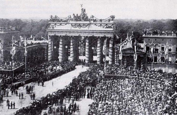 Porta di Brandeburgo 1871