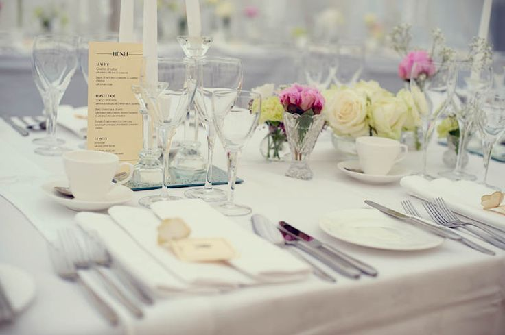 Image result for simple table setting for wedding