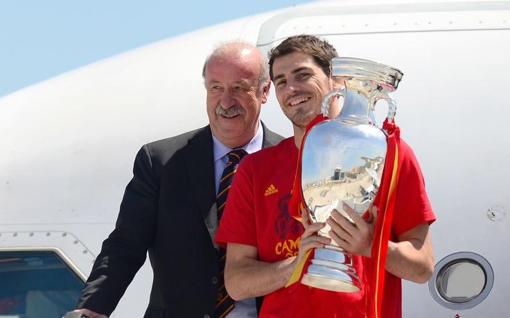 El campeón de vuelta en casa