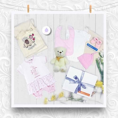 f4267f569c92 Packed full of soft high quality baby products. This new baby gift will not  fail to impress. Prices include delivery and personalised message card.
