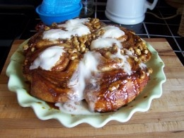 doctor up Pillsbury Grands Cinnamon Rolls and make them taste much better.